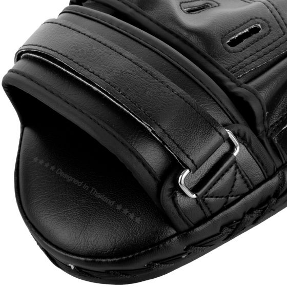 Venum Light Focus Mitts - Black/Black (Pair)