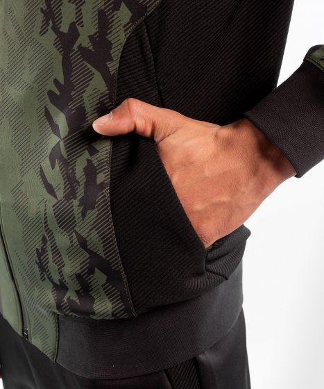 UFC Venum Authentic Fight Week Men's Zip Hoodie - Khaki