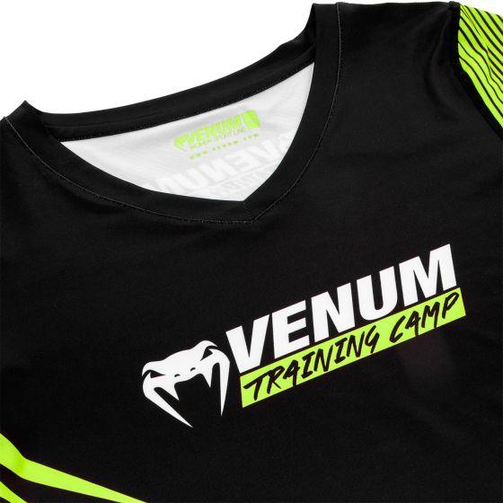Venum Training Camp 2.0 Women T-shirt - Black/Neo Yellow