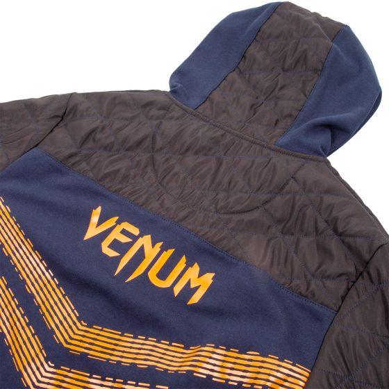 Толстовка Venum Laser 2.0 - Синий/Болотно-серый