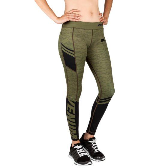 Venum Power 2.0 Leggings - For Women - Khaki/Black
