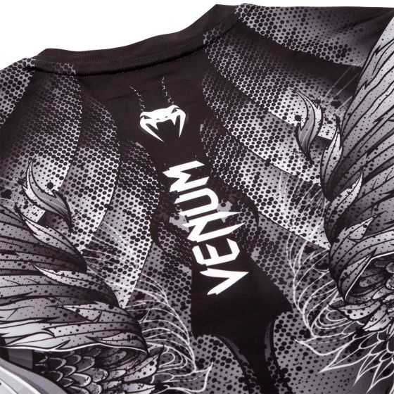 Venum Phoenix Rashguard - Short Sleeves - Black/White - For Women