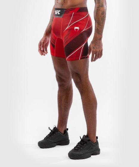 UFC Venum Authentic Fight Night Men's Vale Tudo Shorts - Long Fit - Red