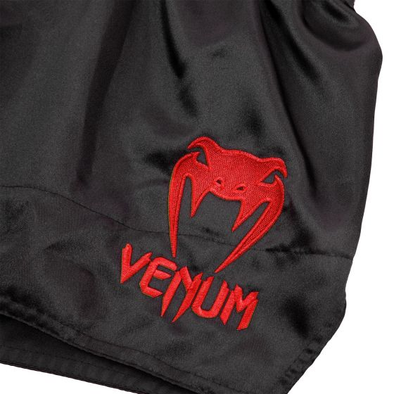 Venum Muay Thai Shorts Classic - Black/Red