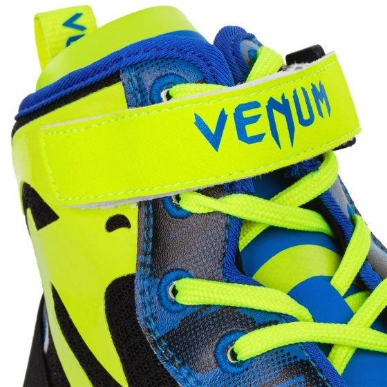 Venum Giant Low Loma Edition Boxing Shoes - Blue/Yellow