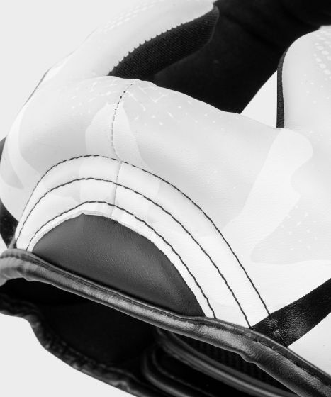 Venum Elite Boxing Headgear - White/Camo