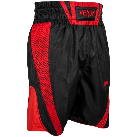Venum Elite Boxing Shorts - Black/Red