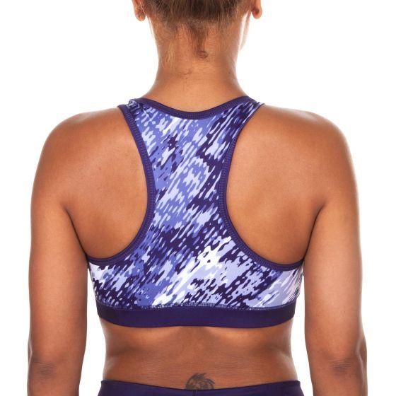 Venum Neo Camo Sports Bra - Dark purple