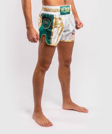 베넘 WBC 무에타이 쇼츠 - 화이트/그린