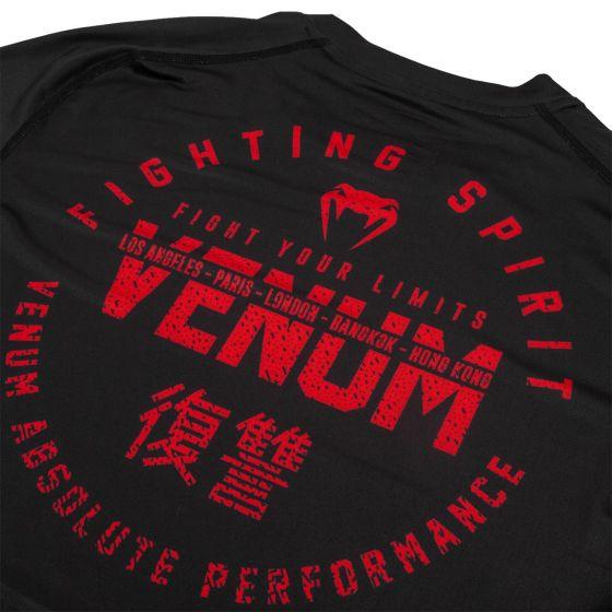 Футболка Venum Signature Dry Tech – Черный/Красный