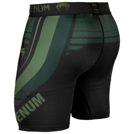 Venum Technical 2.0 Compression Shorts - Black/Khaki - Exclusive