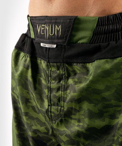 ММА шорты Venum Trooper - Лесной камуфляж/ Черный