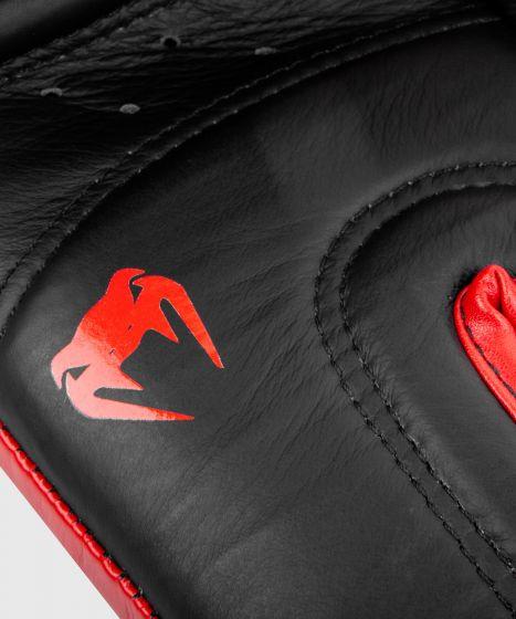 Venum Shield Pro Boxing Gloves Velcro - Black/Red