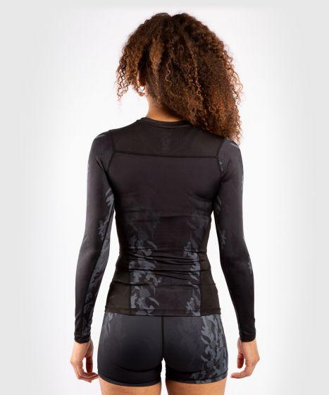 UFC 베넘 어쎈틱 파이트 위크 여성 긴팔 티셔츠 - 검정