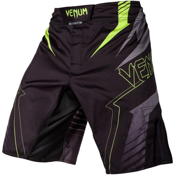 Venum Sharp 3.0 Fightshorts - Black/Neo Yellow