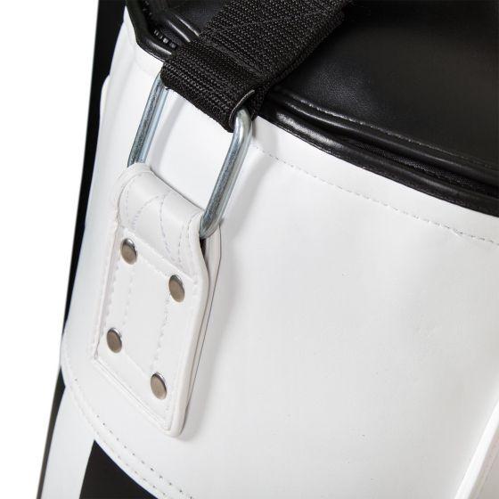 Venum Hurricane Punching Bag - Black/White - New PU - Unfilled - 130 cm