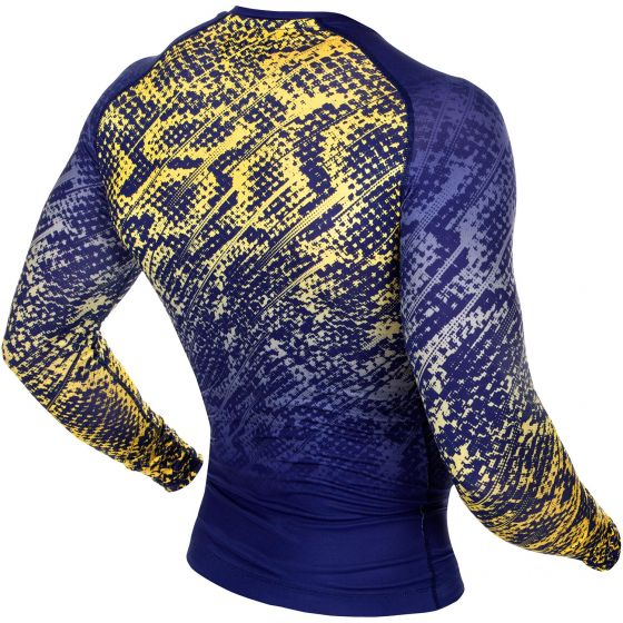 Venum Tropical Compression T-shirt - Blue/Yellow