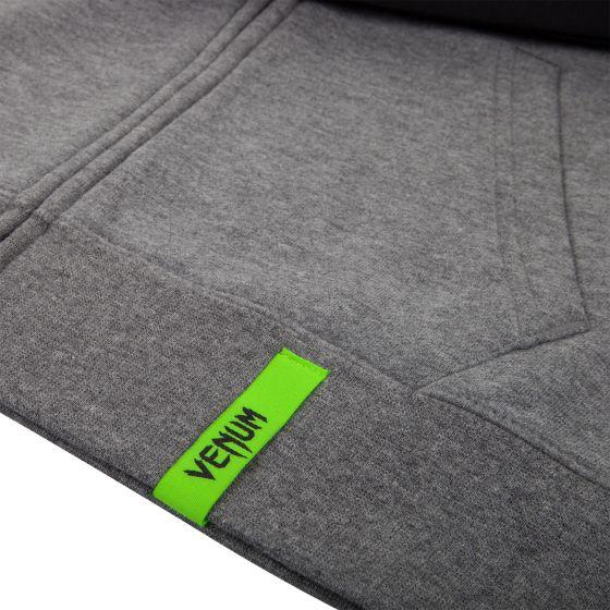 Venum Infinity Hoodie with Zip - Grey/Black
