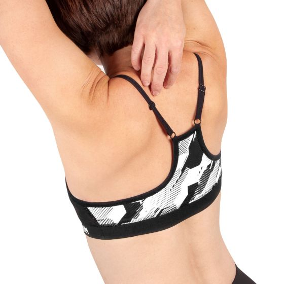 Venum Tecmo Sport Bra - For Women - Black/White