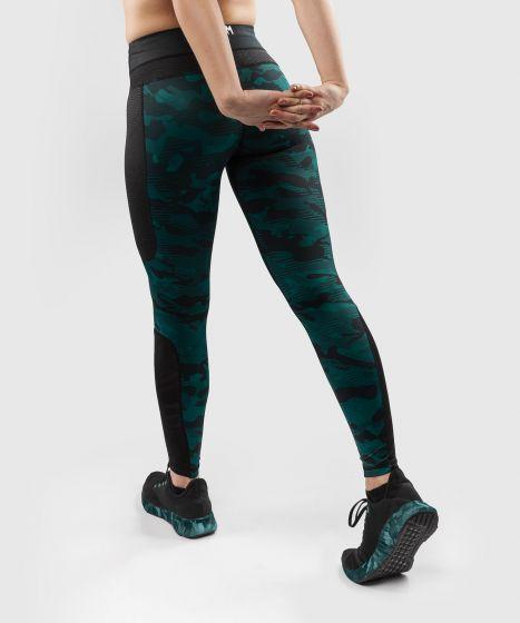 Venum Defender Leggings - for women - Black/Green
