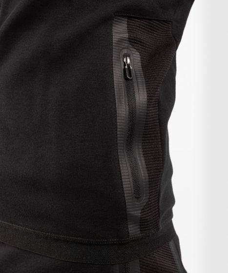 Толстовка с капюшоном Venum LASER EVO 2.0 - Чёрный / Чёрный