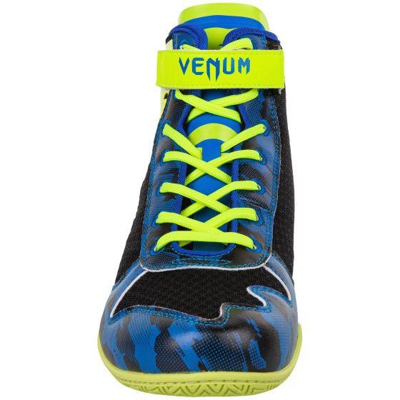 Боксерки Venum Giant Low Loma Edition - Blue/Yellow