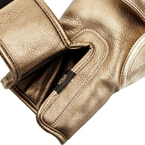 Venum Impact Boxing Gloves - Gold/Gold