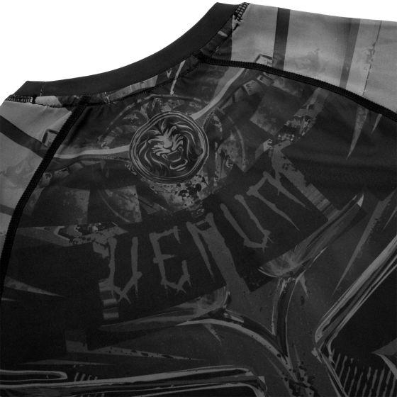 РАШГАРД VENUM GLADIATOR 3.0 – КОРОТКИЙ РУКАВ – ЧЕРНЫЙ/ЧЕРНЫЙ