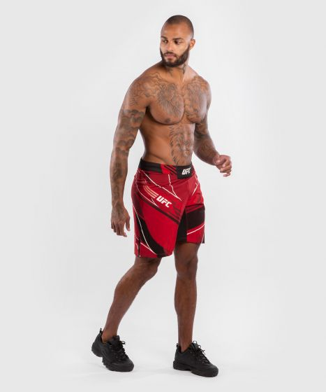 UFC Venum Authentic Fight Night Men's Shorts - Long Fit - Red