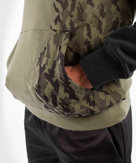 UFC Venum Authentic Fight Week Men's Pullover Hoodie - Khaki
