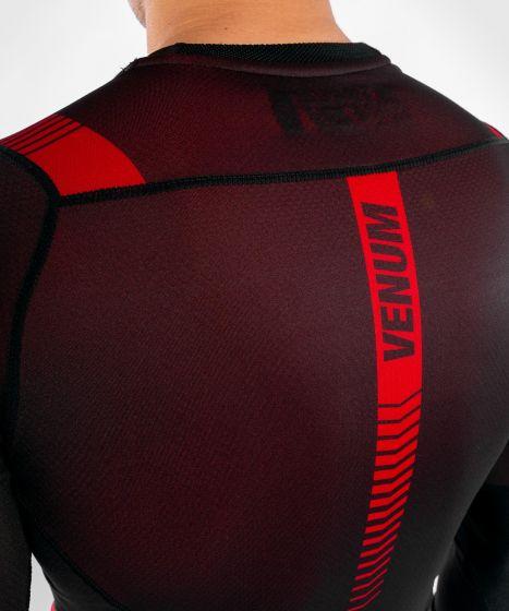 Venum NoGi 3.0 Rashguard - Long Sleeves - Black/Red