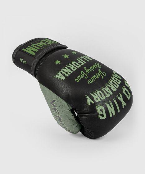 Venum Boxing Lab Gloves - Black/Green