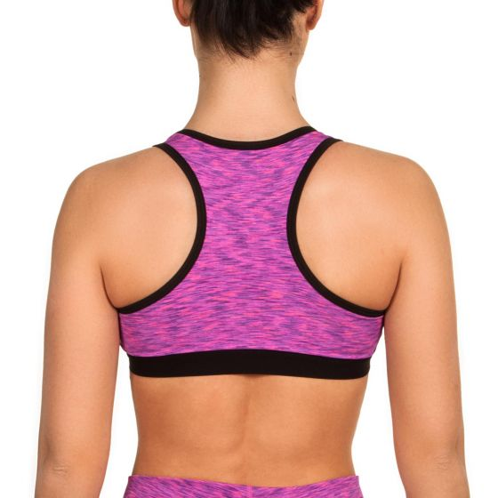 Venum Heather Sports Bra - Heather Pink