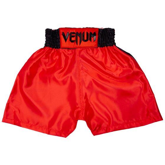 Venum Elite Kids Boxing Shorts - Red/Black