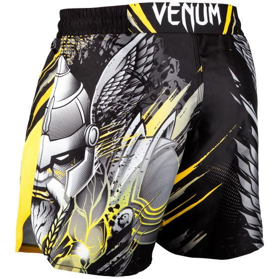 Venum Viking 2.0 Fightshorts - Black/Yellow