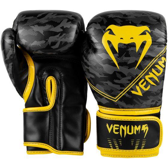 Venum Okinawa 2.0 Kids Boxing Gloves - Black/Yellow