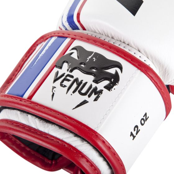 Venum Bangkok Spirit Boxing Gloves - Nappa leather - White