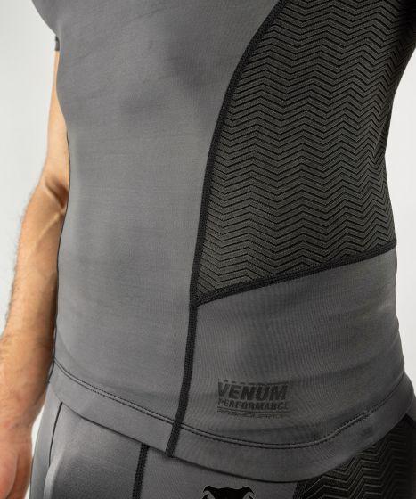 Venum G-Fit Rashguard - Short Sleeves - Grey/Black