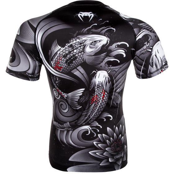 Venum Koi 2.0 Rashguard - Short Sleeves - Black/White