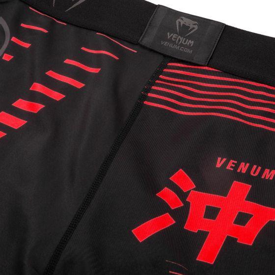Venum Okinawa 2.0 Compression Shorts - Black/Red