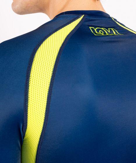 Venum Origins Rashguard long sleeves Loma Edition - Blue/Yellow