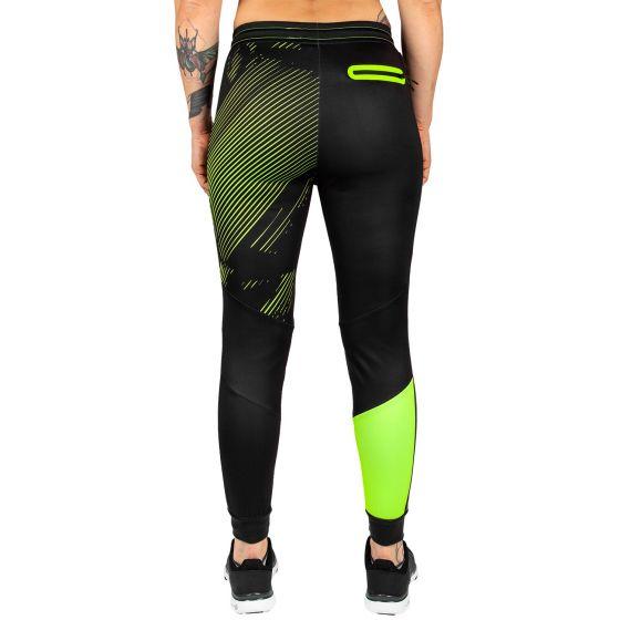 Штаны для бега Venum Training Camp 2.0 - Черный/Неоновый желтый