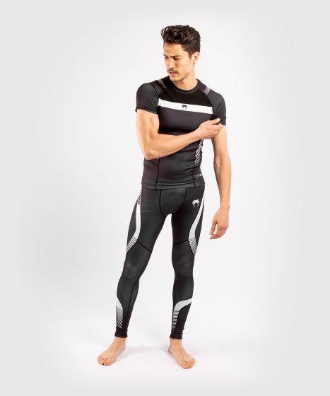Компрессионная футболка Venum No Gi 3.0 - короткий рукав - черный/белый