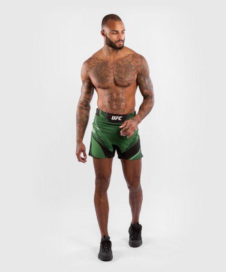 UFC Venum Authentic Fight Night Men's Shorts - Short Fit - Green