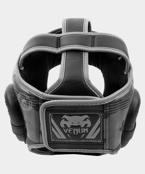 Боксерский шлем Venum Elite - Черный/Темный камуфляж