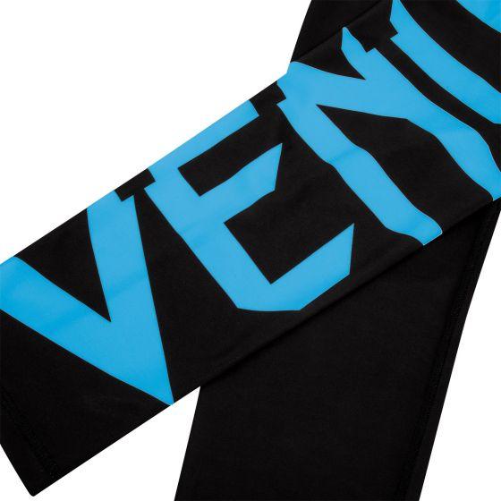 Venum Giant Cropped Leggings - Black/Cyan