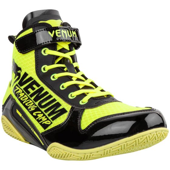Боксерки Venum Giant Low VTC 2 Edition - Neo Yellow/Black
