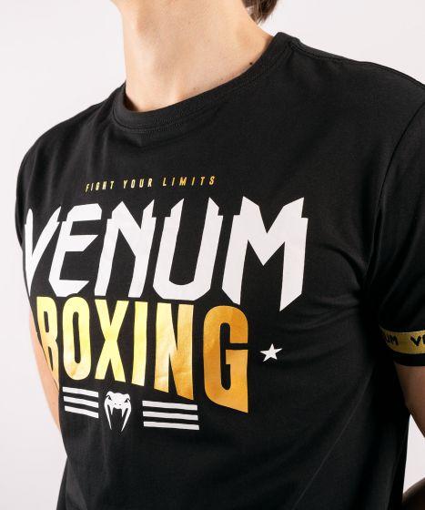 Футболка Venum Boxing Classic 20 Black / Gold