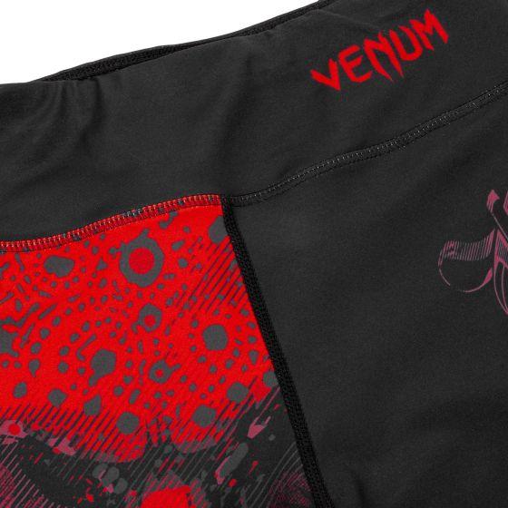 Venum Santa Muerte 3.0 Leggings Crops - For Women - Black/Red