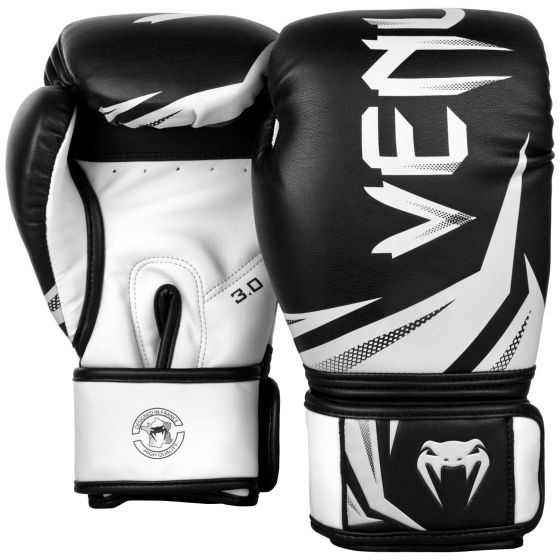 Venum Challenger 3.0 Boxing Gloves - Black/White